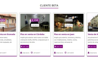 Escaparate virtual para inmobiliarias